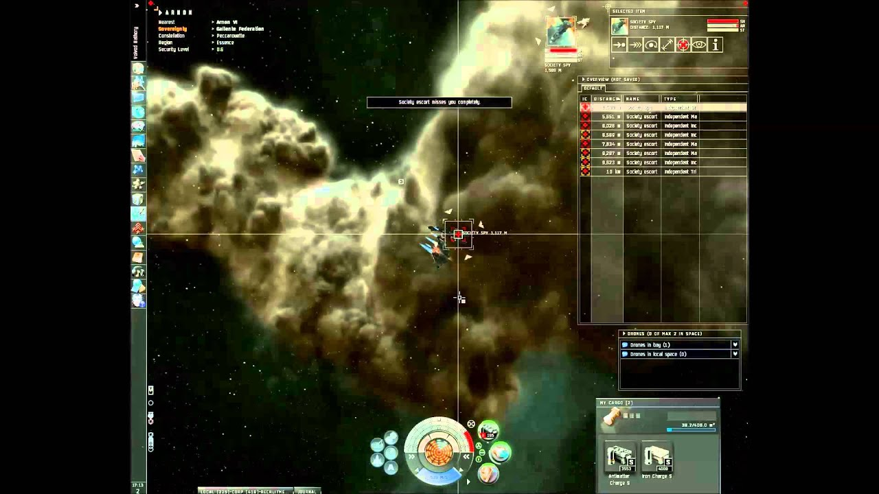 EVE ONLINE sisters of eve (46) - sealing the deal