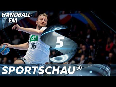 Lichtblick Kühn: Die Top-Szenen aus Lettland - Deutschland | Handball-EM | Sportschau