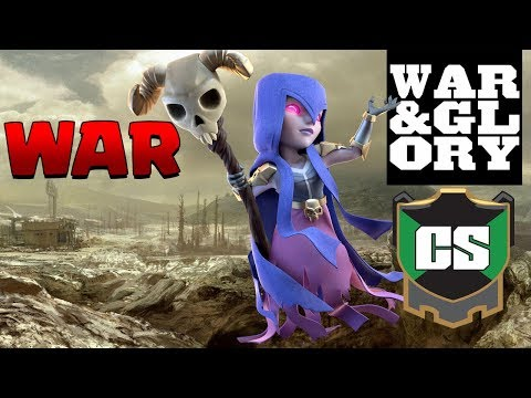 CHAMPIONS!  Cold September vs WAR & GLORY | CWL Invite LIVE STREAM | Clash of Clans