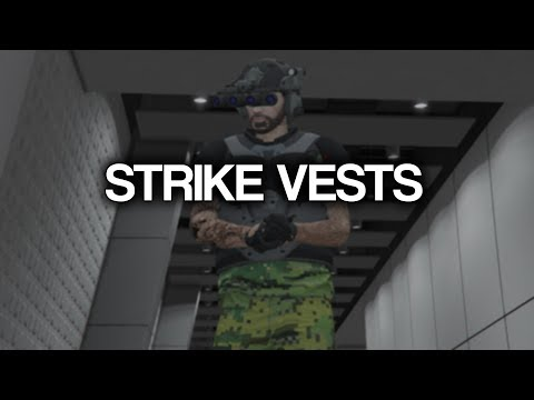 Strike Vest Protection Testing - GTA Online Doomsday Heist DLC