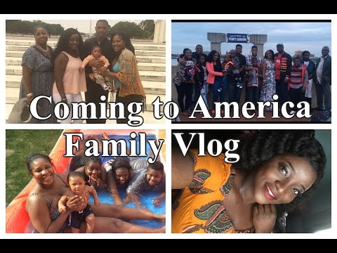 Coming to America Family Holiday Vlog
