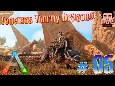 ARK Survival Evolved Domesticar Thorny Dragon ! La aventura del desierto gameplay español