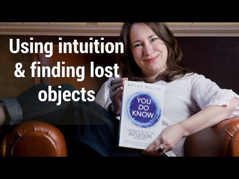 Using intuition to find lost objects