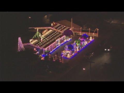 Boulder City Christmas Light Fight! 12/5/16