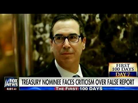 Image result for Steve Mnuchin lies