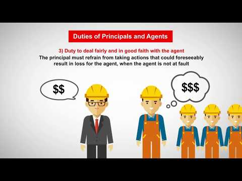 Business Law: The Principal Agent Relationship