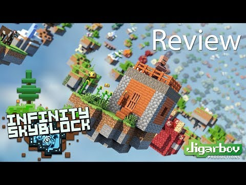 Minecraft Infinity Skyblock Gameplay Review