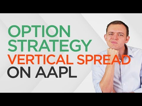 Option Strategy: Buying a Directional Vertical Spread (Bullish & Bearish) on Apple