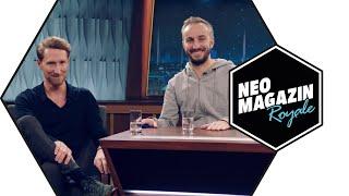 Louis Klamroth zu Gast im Neo Magazin Royale