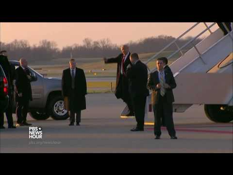 In Indiana, Trump Lauds Exchange Of Tax Breaks For Carrier Jobs