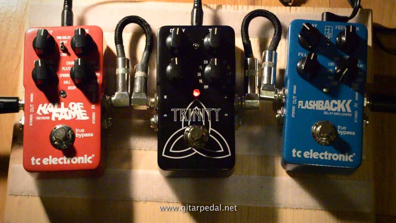 tc electronic hall of fame reverb pedal vs trinity reverb pedal youtube. Black Bedroom Furniture Sets. Home Design Ideas