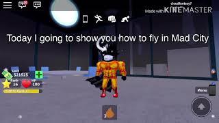 Comment voler dans Mad City Roblox