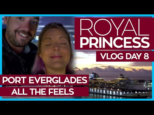 Leaving the Royal Princess   Royal Princess Cruise Vlog Day 08