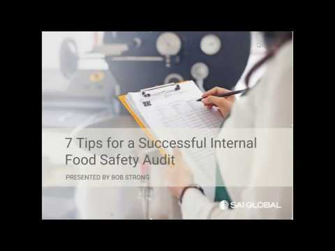 7 Tips for a Successful Internal Food Safety Audit