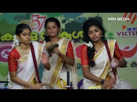 Panchavadyam by Kerala School Girls State Kalolsavam