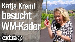 Reporterin Katja Kreml im WM-Trainingslager