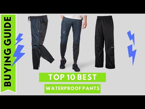Best Waterproof Hiking Pants || Best Rain Pants For Hiking [Updated 2020]
