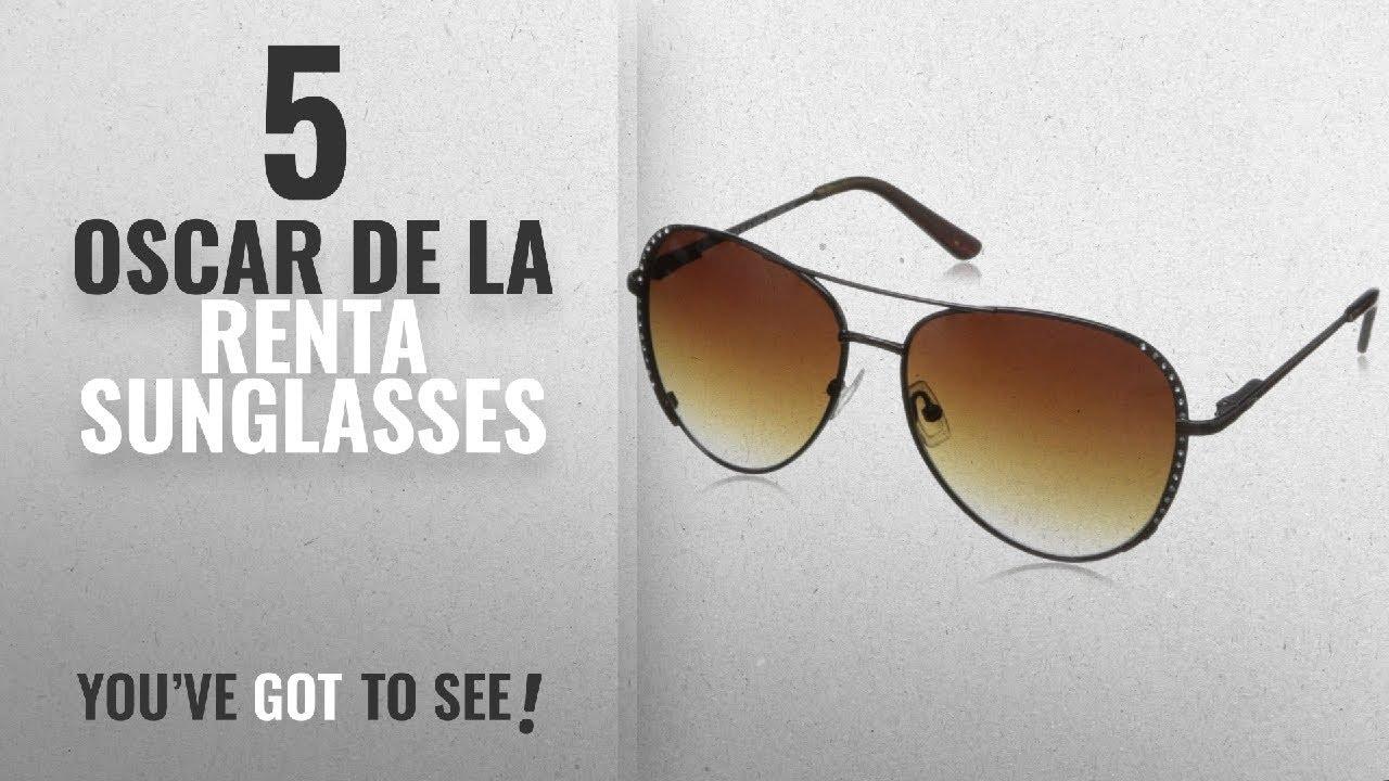 87d688a65ec9 O By Oscar De La Renta Eyewear Women's SSC4020 Aviator Sunglasses ...