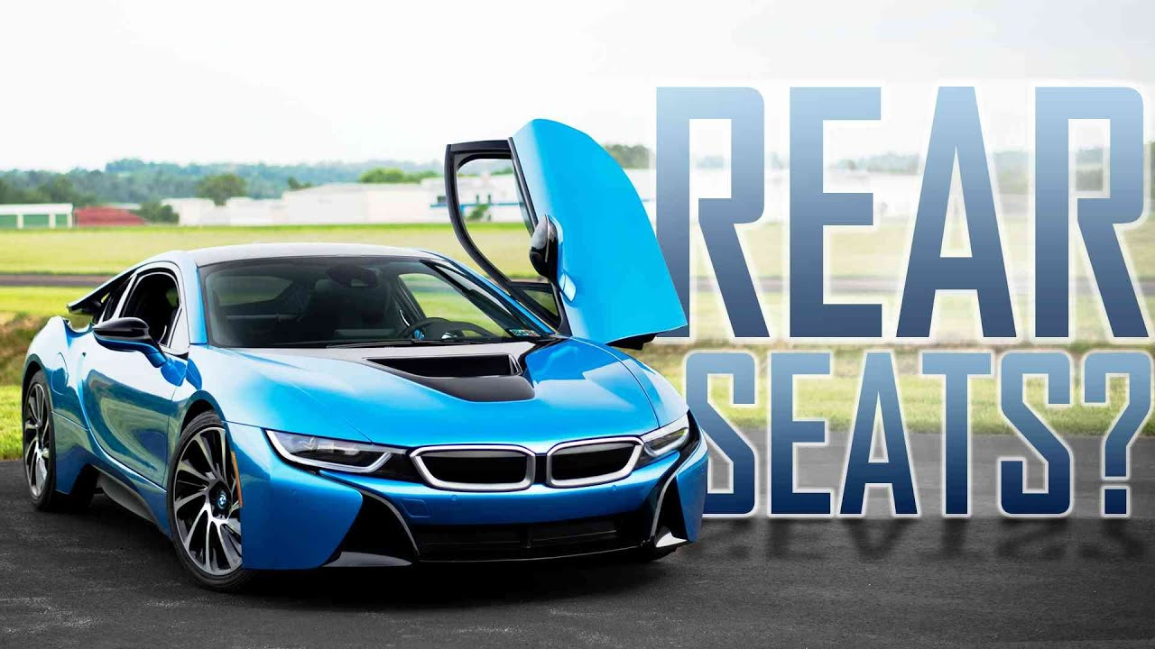 How Do You Get Into The Backseat Of The Bmw I8 Youtube