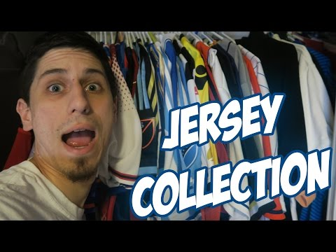 MY HUGE JERSEY COLLECTION!! - THROWBACKS & AUTHENTICS