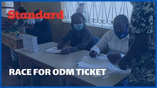 Race for ODM Ticket - ODM holds nominations in Msambweni ahead of constituency mini polls