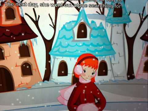 "The story for children ""The Snow Queen""by Indy"