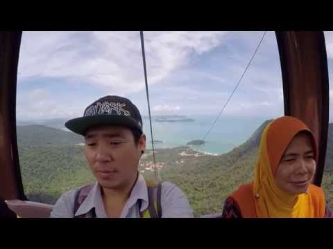 Langkawi cable car Malaysia เกาะลังกาวีเคเบิ้ลคาร์