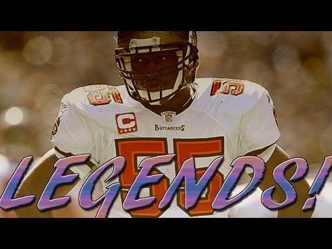 MUT 15 NEW LEGENDS 95 DERRICK BROOKS BEST COVERAGE LINEBACKER!!!