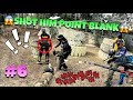 SHOT AT POINT BLANK !! // PAINTBALL FUNNY MOMENTS // JUNGLE ISLAND PAINTBALL #6