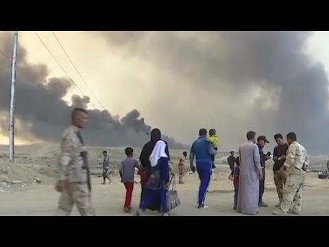 Iraq-led forces closing in on Mosul