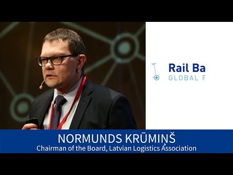 N. Krūmiņš. Baltic Business Opportunities with Rail Baltica | RBGF 2017