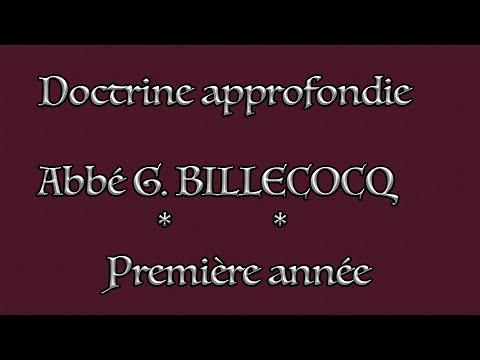 Cours 9 - Le panthéisme (Q3) - La perfection divine (Q4) - Abbé G. BILLECOCQ - 12/01/2021