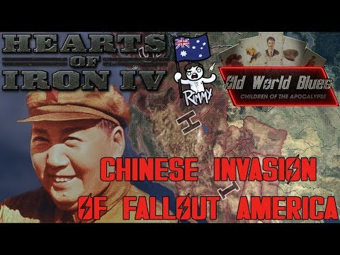 Hearts of Iron 4 - Old World Blues - Chinese Invasion of America (World Conquest)