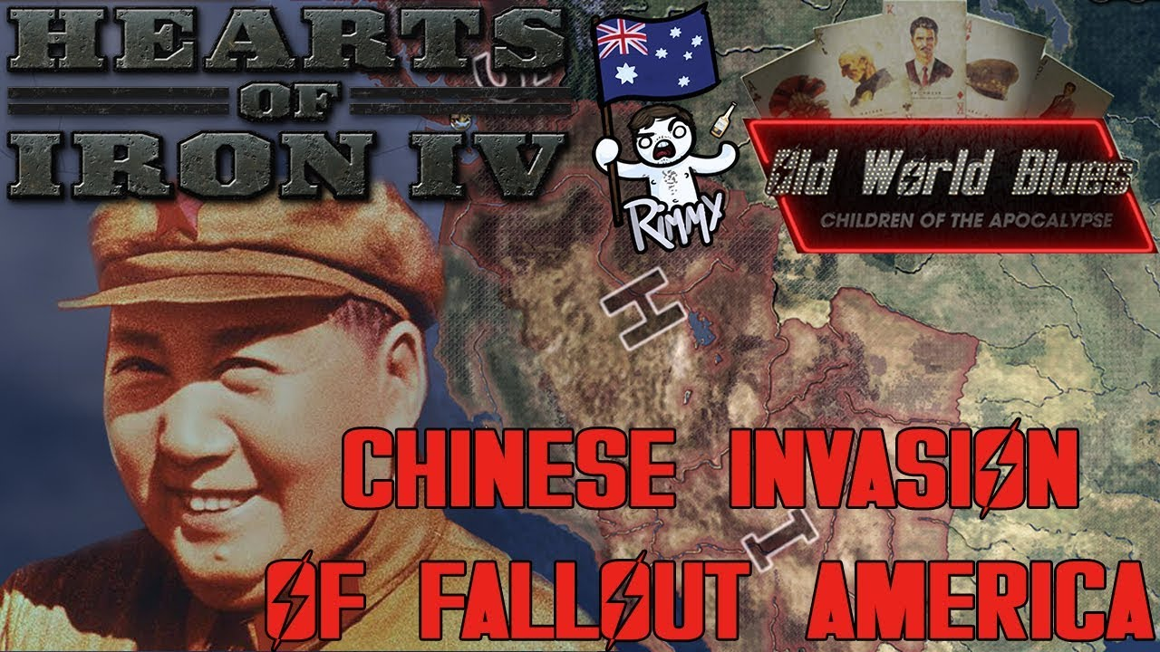 Hearts Of Iron 4   Old World Blues   Chinese Invasion Of America (World  Conquest)