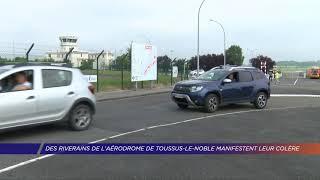 Yvelines | Des riverains de l'aérodrome de Toussus-le-Noble manifestent leur colère