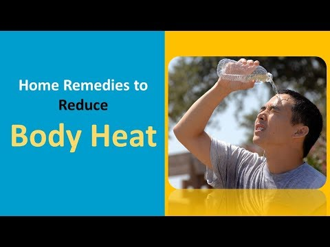 Home Remedies To Reduce Body Heat With Cool Water &  Coconut Water