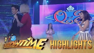 It's Showtime Miss Q & A: Vice leaves Anne onstage