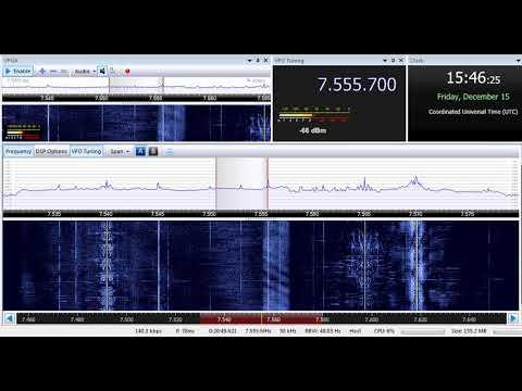 15 12 2017 All India Radio in English to SoAs 1545 on 7555,7 Delhi