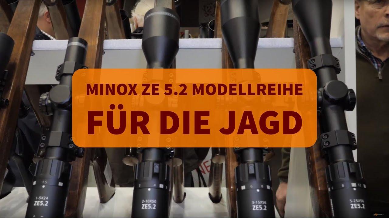Minox ze modellreihe vier zielfernrohre für die jagd youtube