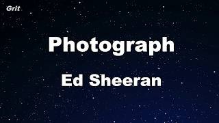 Video Photograph - Ed Sheeran Karaoke 【No Guide Melody】 Instrumental download MP3, 3GP, MP4, WEBM, AVI, FLV Januari 2018