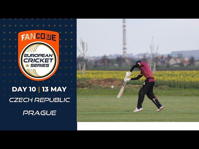 🔴 FanCode European Cricket Series Czech Republic, Prague Day 10 | Cricket Live Stream