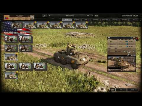 Steel Division: Normandy 44 USA 3rd Armor SpearHead Battleground Guide