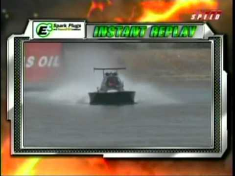 Drag Boat Racing Tony Scarlata After Accident Interview Greg Jones Qualifying World Finals Chandler AZ 2010