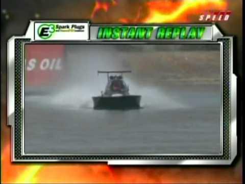 Drag Boat Racing Tony Scarlata After Accident Interview Greg Jones Qualifying World Finals Chandler AZ 2010