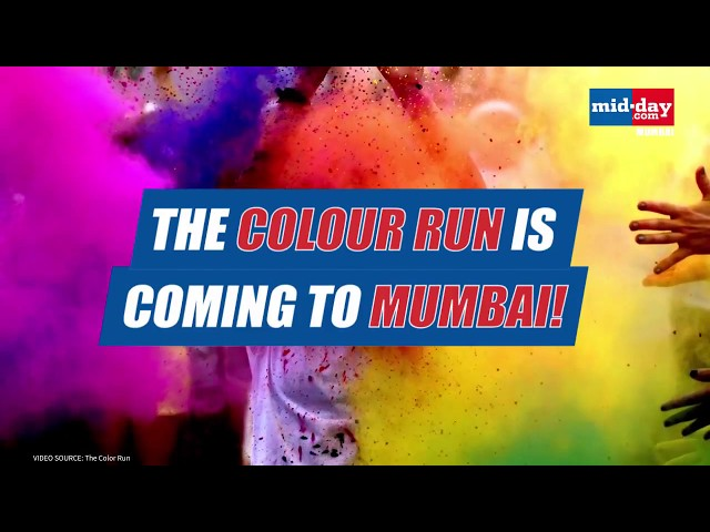The 'Colour Run' Is Coming To  Mumbai !