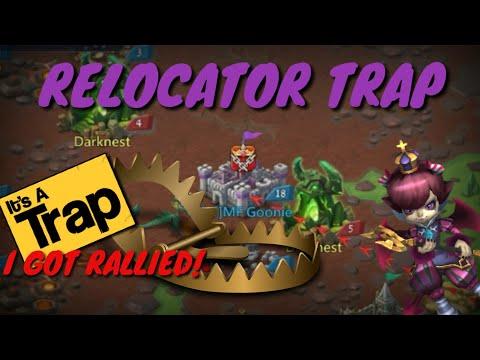 Relocator Trap - Lords Mobile