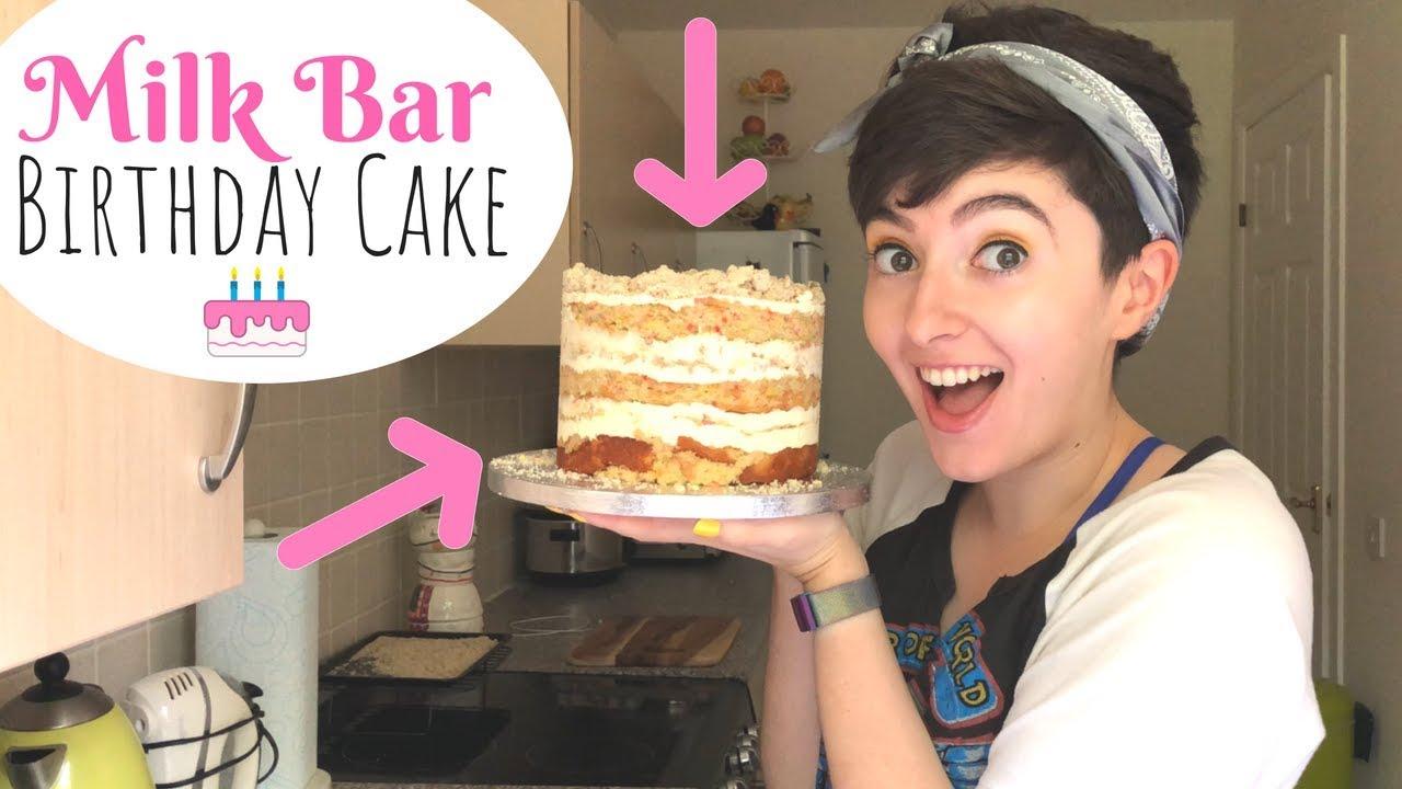 Making And Reviewing MOMOFUKU MILK BAR BIRTHDAY CAKE