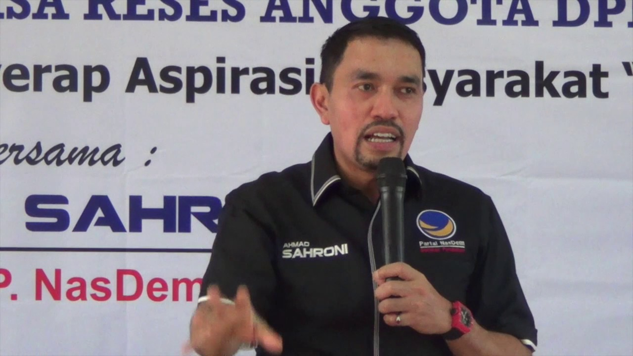 Ahmad Sahroni Photo: Kegiatan Reses Ahmad Sahroni Di Pademangan Jakarta Utara