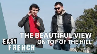 The Beautiful View Over Nice | Super Easy French 25