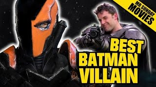 Why deathstroke is the perfect batman villain